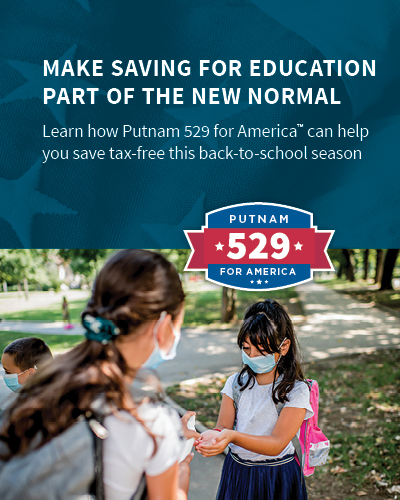 Make saving for education part of the new normal.